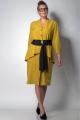 Платье SOVA 11046 горчица