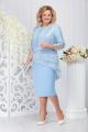 Блуза, Платье Ninele 5732 голубой
