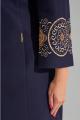 Пальто Lissana 3826 синий