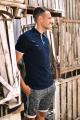 Футболка Rawwwr clothing 026 синий/белый