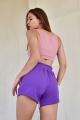 Шорты Rawwwr clothing 095 белый+лила+фиолет