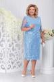 Жакет, Платье Ninele 5744 голубой