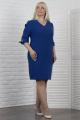 Платье VIZAVI 610 василек_с_блеском