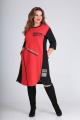 Платье SandyNa 13628 красный
