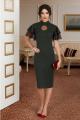 Платье Lissana 3803 зеленый