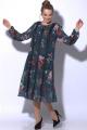 Платье SOVA 11014 зеленый