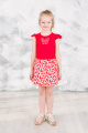 Платье GuliGuli П-21 красный