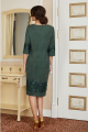 Платье Lissana 3855 зеленый