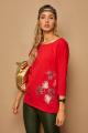 Блуза Lamajka L9243 красный
