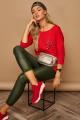 Блуза Lamajka L9246 красный