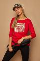 Блуза Lamajka L9248 красный