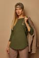 Блуза Lamajka L9265 оливковый