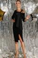 Платье DiLiaFashion 0293 черный