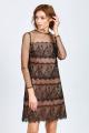 Платье Achosa 1409 черный
