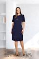 Платье Fortuna. Шан-Жан 647 темно-синий