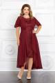 Платье Mira Fashion 4655-3 бордо