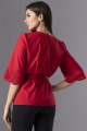 Блуза VIZAVI 616 красный