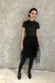 Платье Sisters Solonko 1085 черный+черный