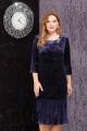 Платье LeNata 11814 синий