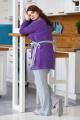 Брюки, Туника Milla Jo & OWER 024 фиолет