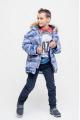 Куртка Bell Bimbo 173056 набивка/т.синий