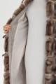Пальто Bugalux 955 170-серо-розовый