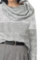Шорты Effect-Style 678 серый,черный