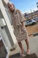 Платье Shymoda 4816 бежево-кремовый