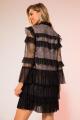 Платье LaVeLa L10059 черный/золото