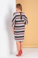 Платье Moda Versal П2142 красная_полоска