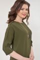 Платье Faufilure outlet С870 зелень