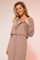 Куртка LaVeLa L70020 капучино