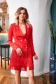 Платье Temper 298 красный