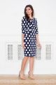 Платье Faufilure С1065 синий