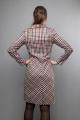 Платье Mita ЖМ1022 клетка