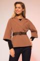 Жакет LaVeLa L30022 коричневый