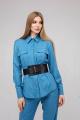 Рубашка JKY BO-001 голубой