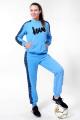 Спортивный костюм Nat Max ШКМ-0113-32 голубой