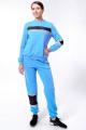 Спортивный костюм Nat Max ШКМ-0114-32 голубой