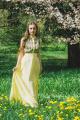 Платье Pavlova 006 желтый