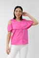 Блуза VLADOR 500621-1 розовый