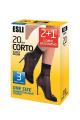 Носки Conte Elegant ESLI_Corto_20_2+1_23-25_visone