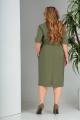 Платье SandyNa 13669 хаки