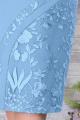 Платье Ninele 7288 голубой