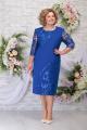 Платье Ninele 7288 василек