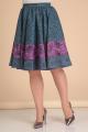 Юбка Lady Line 419 серо-голубой