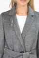 Пальто ElectraStyle 4-5642-317 сер-черн