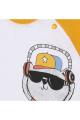 Майка Bell Bimbo 180357 белый/желтый