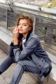 Бомбер Rawwwr clothing 077 серый