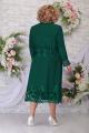 Кардиган, Платье Ninele 2258 изумруд